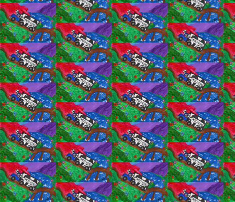 A Mooving Experience fabric by valerie_d'ortona on Spoonflower - custom fabric