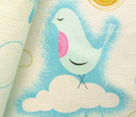 cloudy day bird