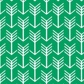 Arrows  Green and White