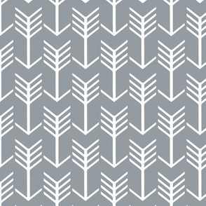 Arrows Grey and White
