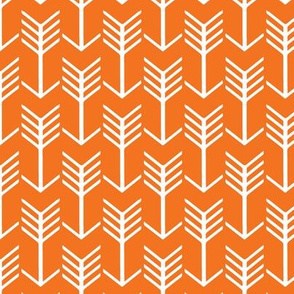 Arrows Orange and White