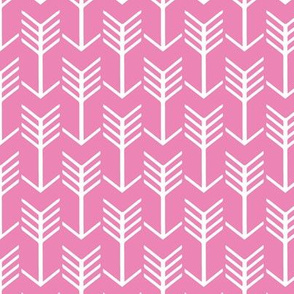 Arrows Pink and White