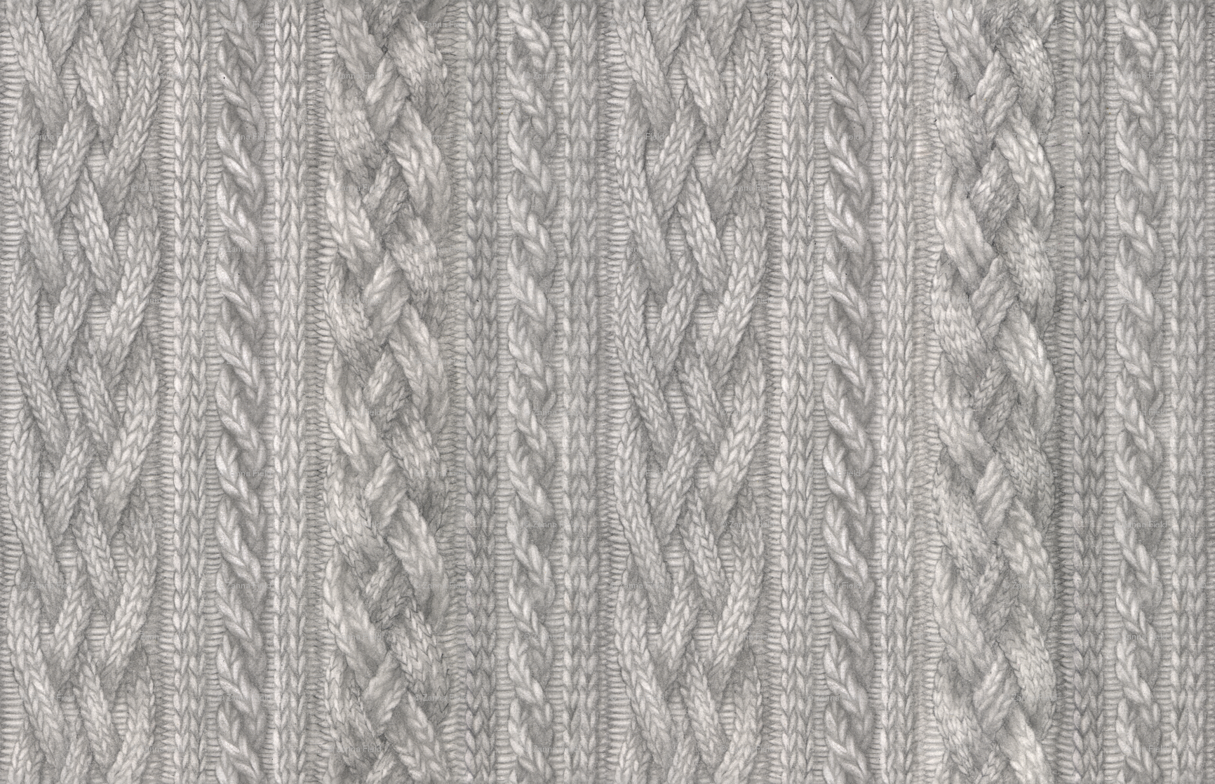Cable Knit wallpaper - zhfield - Spoonflower
