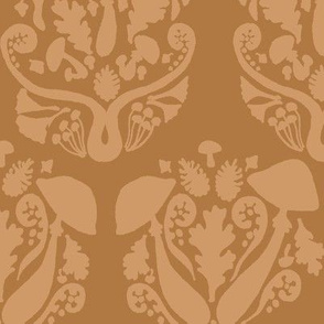 Autumn Damask // Brown