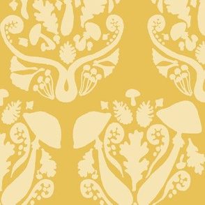 Autumn Damask // Yellow
