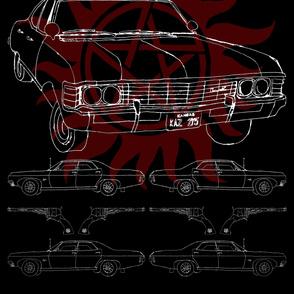 "54"" Width - Impala, '67, the baby"