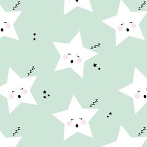 sleepy stars || mint