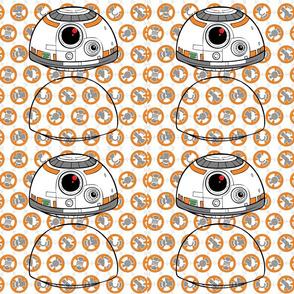 StarWars BB8 Head Cutout Template