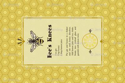 The Bee's Knees Tea Towel