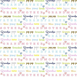 grandfather/mother Xtra Small105 color crush hearts