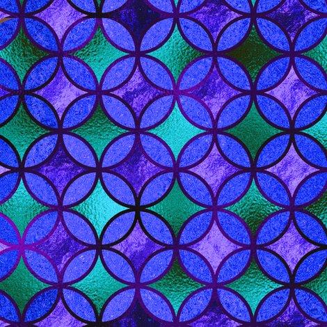 Rrquatrefoil_japanese_gold_blue_emerald_purple_turquoise_shop_preview