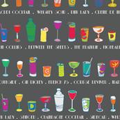 Line 'em up! - Speakeasy Cocktails on Paynes Grey