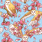 Barn Owls and Magnolias