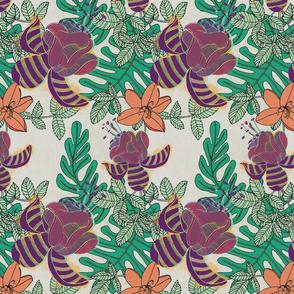 Lush Floral (Jungla 01)