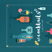 cocktails_teatowel