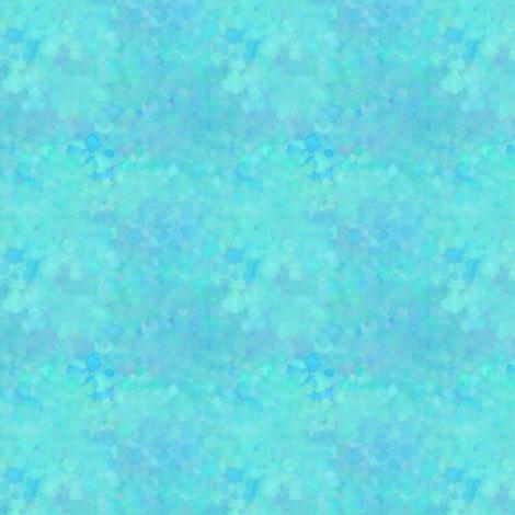 Bohemian Bear Watercolors | Robin's Egg Blue Cotton Candy Blue fabric by bohobear on Spoonflower - custom fabric