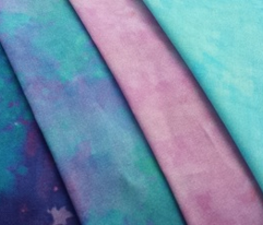 BohoBear Watercolors | Light Purple Teal