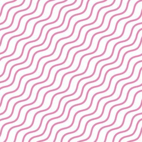 Pink Wave Stripes