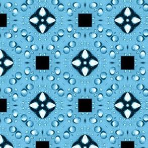 Raindrops on Pool Tile