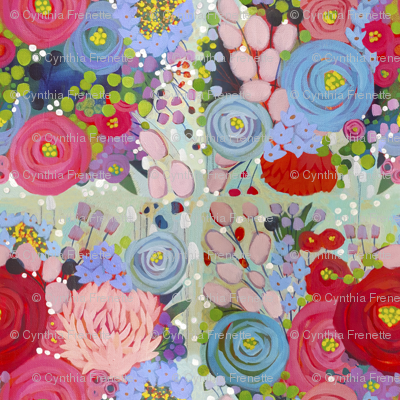 Painted Garden- Spring Bouquet Burst