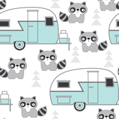 trailers-and-raccoons---blue-on-white