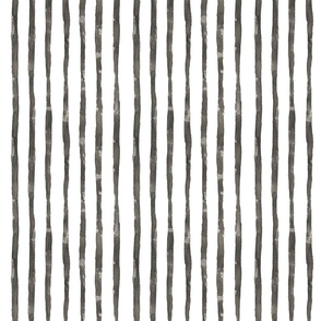 WATERCOLOR STRIPES BLACK AND WHITE MEDIUM