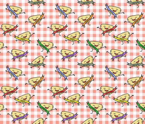 Pierogi Picnic fabric by hrsews on Spoonflower - custom fabric