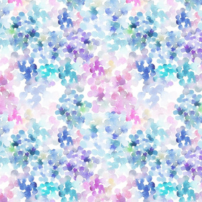 watercolor blobs pattern