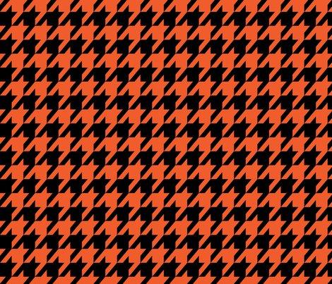 Houndstooth_orange_black_shop_preview