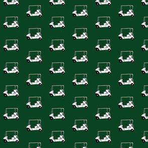 Golfcarts-green
