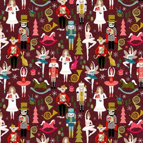 Rxmas_nutcracker_pattern_burgundy_shop_preview