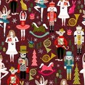 Rxmas_nutcracker_pattern_burgundy_shop_thumb