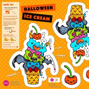 Halloween Scary Ice Cream