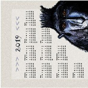 2019  is Engaged, a tea towel calendar by Su_G