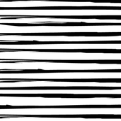 Irregular Black parallel lines stripes