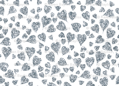 Silver_Hearts_on_White
