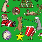 Rrrrchristmas_ferret_green_shop_thumb