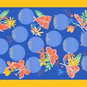 2017 Tea Towel Calendar - Thank You Very Moth