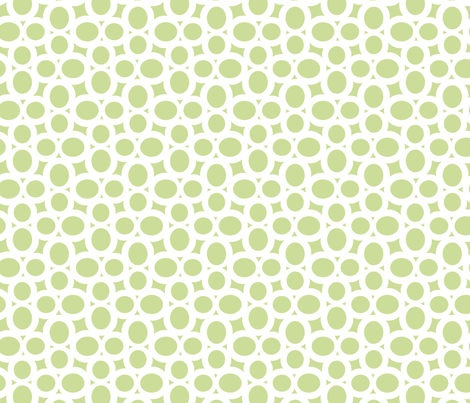Letterform - 8 - Green fabric by zuzana_licko on Spoonflower - custom fabric