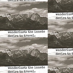 wander-lusting for the mountains