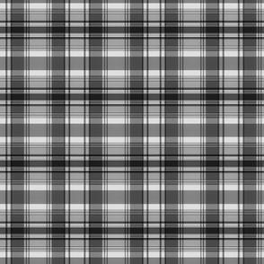 Greyscale plaid