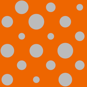 Party Dots Random - Orange