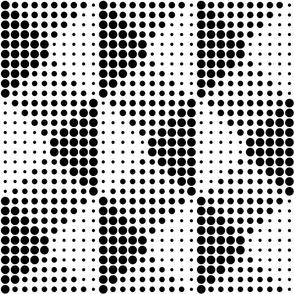 Shadow Dots - B+W