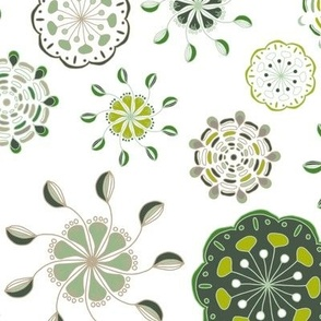 Folk Floral Cups on white_Miss Chiff Designs