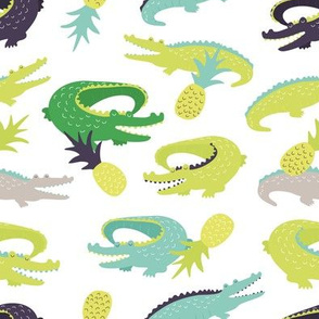 Croc-o-pine - day
