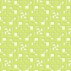Green Spiral Lattice