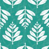 Lau (Leaf) - Turquoise