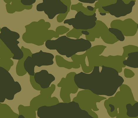 US Parachute Camo Pattern Fabric Ricraynor Spoonflower Cool Camo Pattern