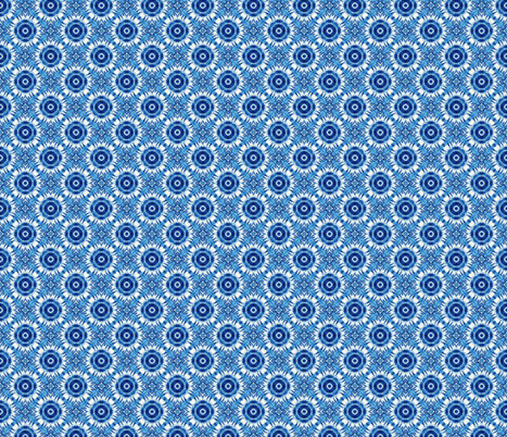 Victorian China Blue fabric by hollywood_royalty on Spoonflower - custom fabric