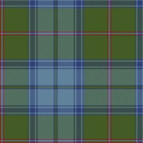 Maine original tartan, antique colors